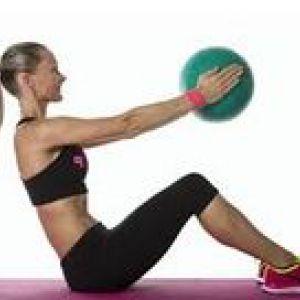 Як робити вправи з медбол?