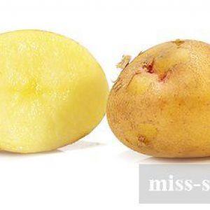 Маски з картоплі для обличчя: рецепти