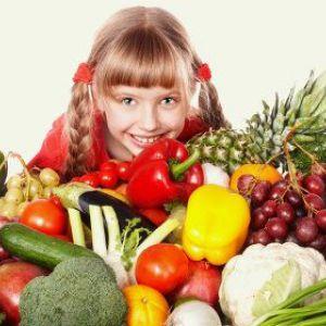 Вітаміни в харчуванні дітей